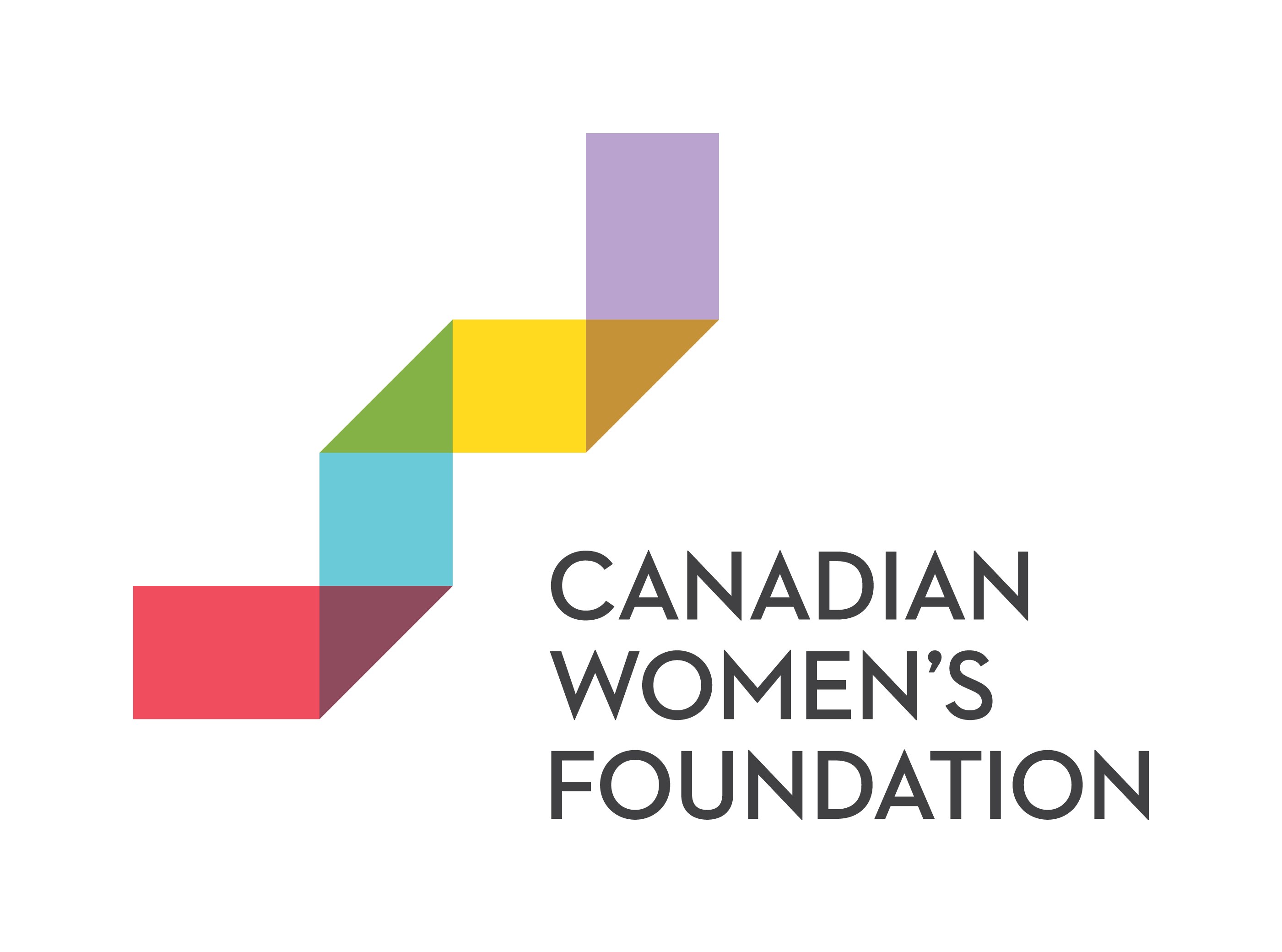 Women and Gender Equality Logo with Canada's Flag